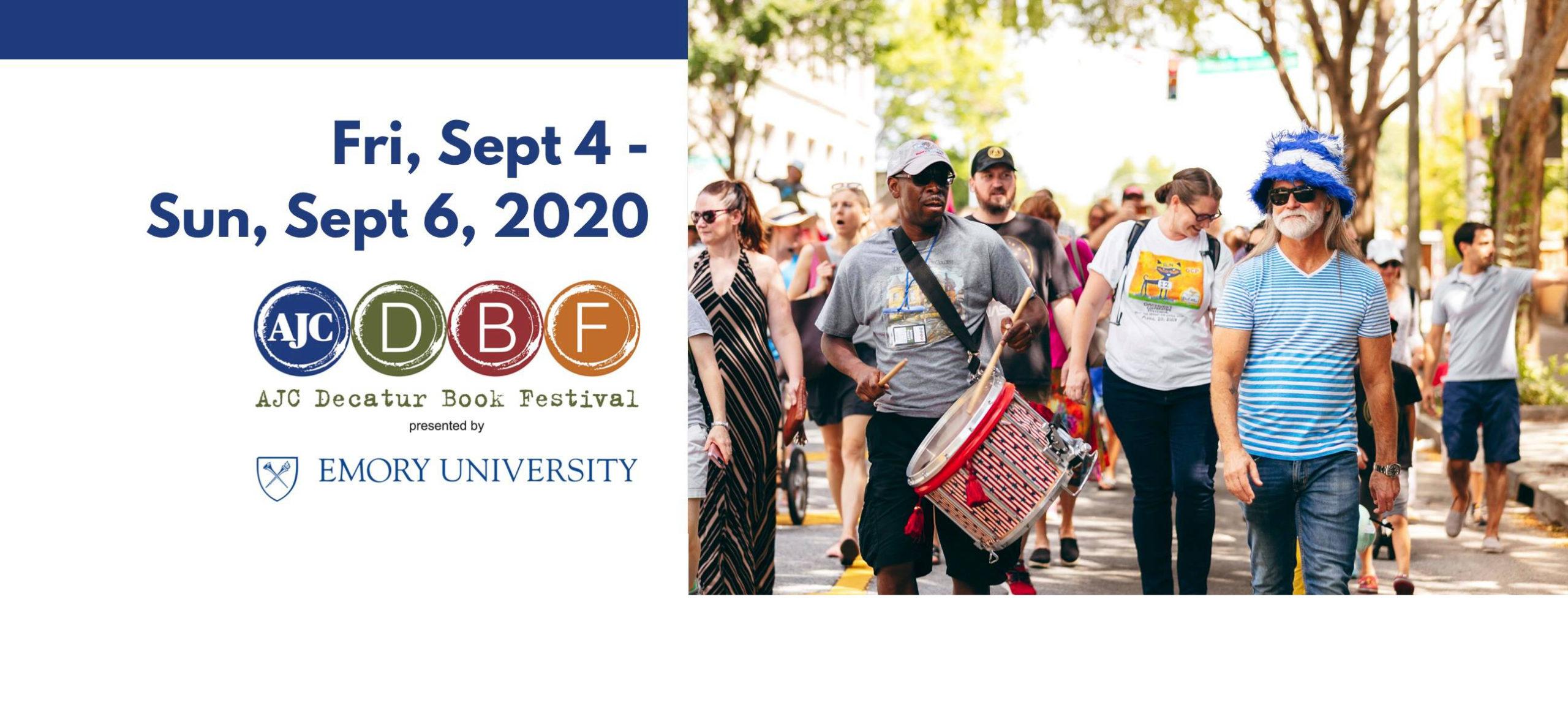 AJC Decatur Book 2020 Festival