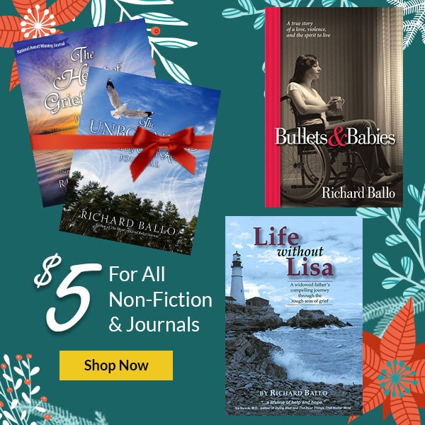 December Promotion $5 on All Non Fiction and Journals - Shop Now
