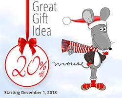 Little Mouse Press Christmas Ad