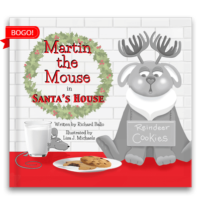 Martin in Santa's House BOGO Deal
