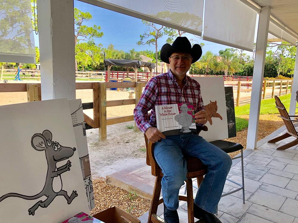 Richard Ballo at Horse Tales 001