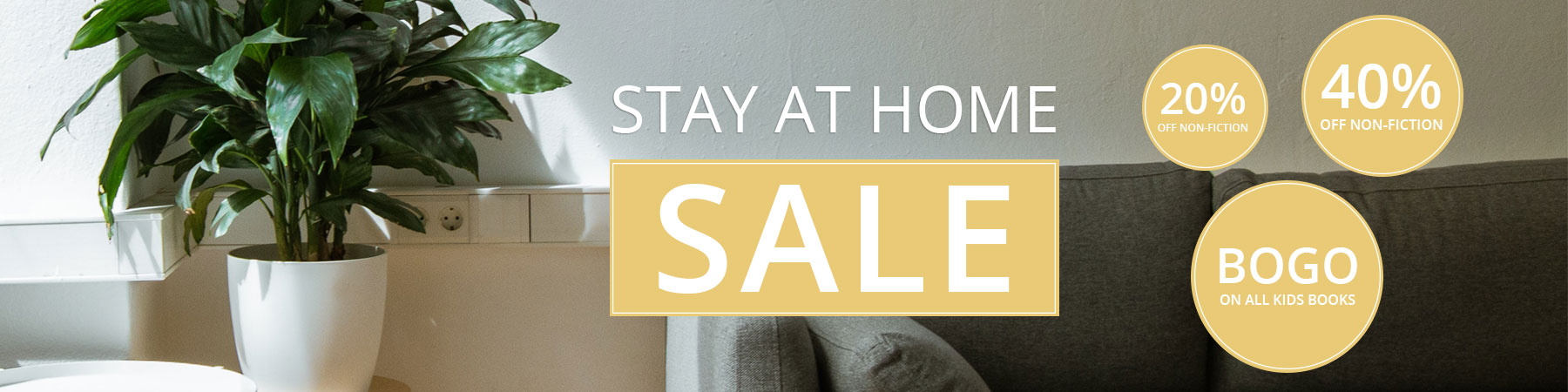 Stay at Home Sale - TMP