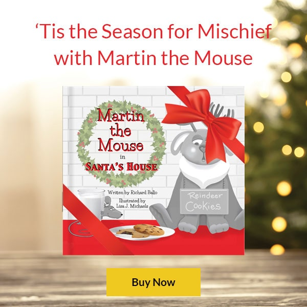 Martin the Mouse in Santa's House Book