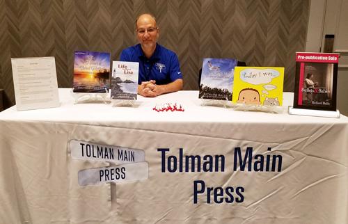 Tolman Main Press Table with Richard Ballo